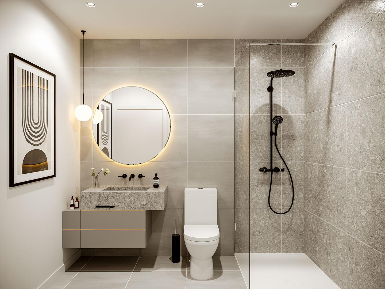 Mansfield unité 1809 - Trois chambres à coucher No5 avec deux salles de bain